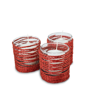 votive-holder-crazy-weave-red